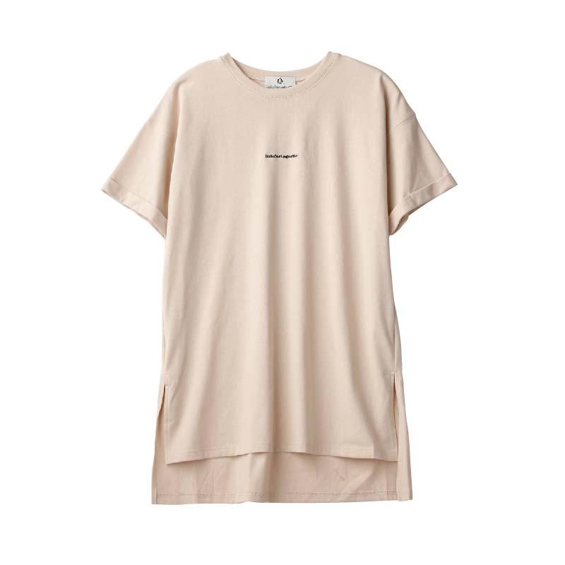 〈ルルカスタネット〉刺繍Tシャツ